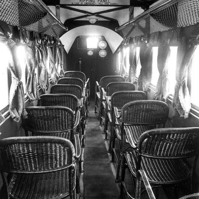airline seat 1930s