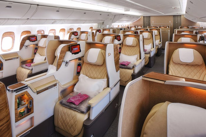 Emirates business class 2